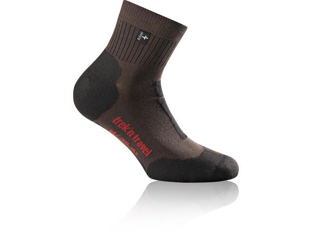 Rohner Trek'n Travel L/R Calcetines, dark-brown